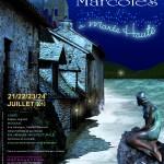 """Affiche """"A marée haute"""" 17ème édition des Nuits de Marcolès"""