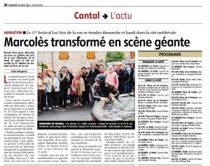 vendredi 12 aout 2011 La Montagne