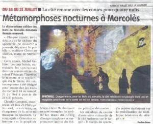 Mardi 17 juillet 2012 La Montagne