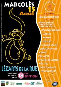 AFFICHE 2012-lesartsdelarue