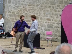 """Cie Robert et moi """" chante l'amour"""" ©Stéphanie Mas"""