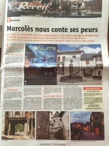 le réveil cantalien 17 juillet 2015