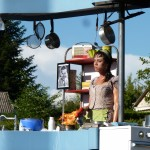 """Cie Tout en Vrac """"la cuisinière"""" ©Stéphanie Mas"""