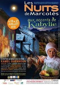 AFFICHE-Nuits de Marcolès 2018